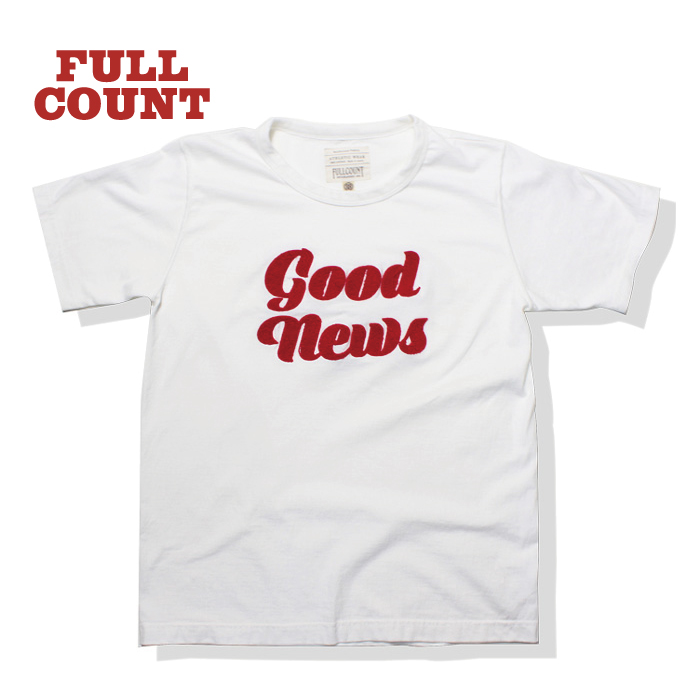 SAGARA EMBROIDERY TEE ''GOOD NEWS''