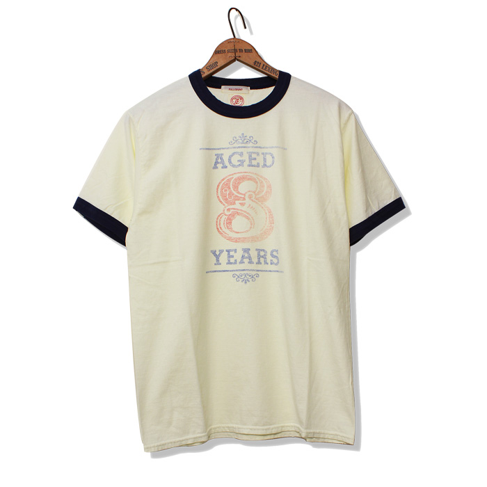 PRINT RINGER TEE AGED 8YEARS