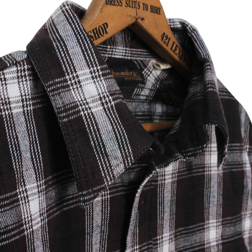 25th Original Ombre Check Nel Shirts【25TH ANNIVERSARY ITEM】