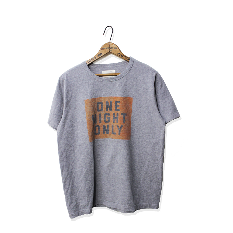 BASIC PRINT TEE【ONE NIGHT ONLY】【再入荷!】
