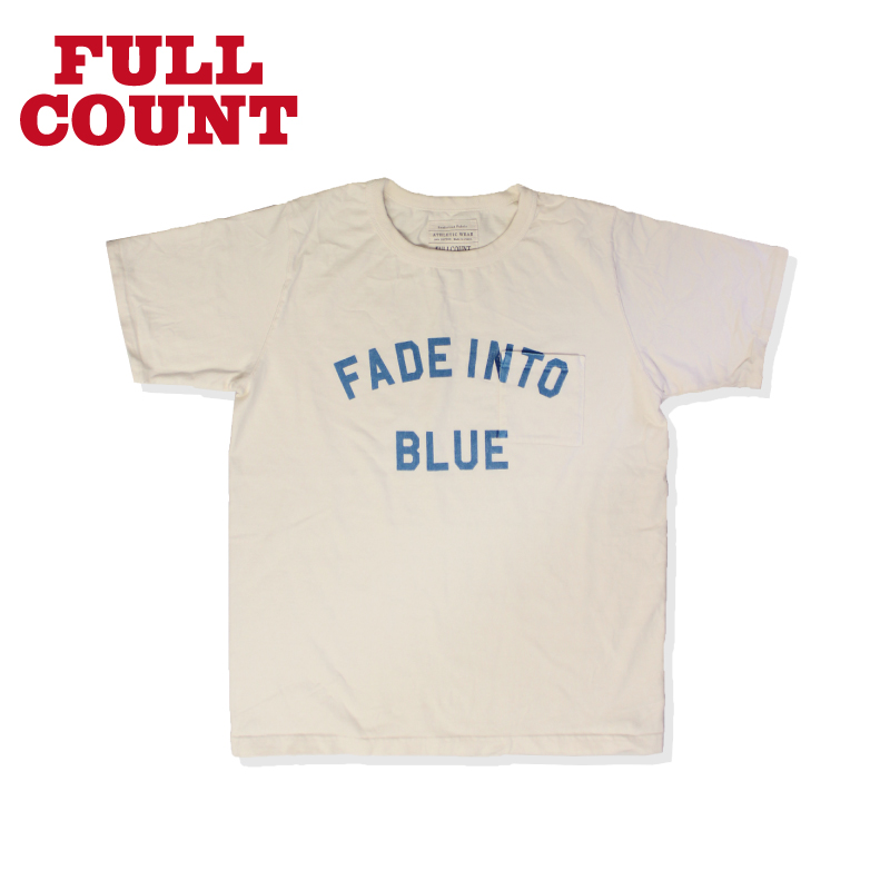BASIC PRINT TEE【FADE INTO BLUE】
