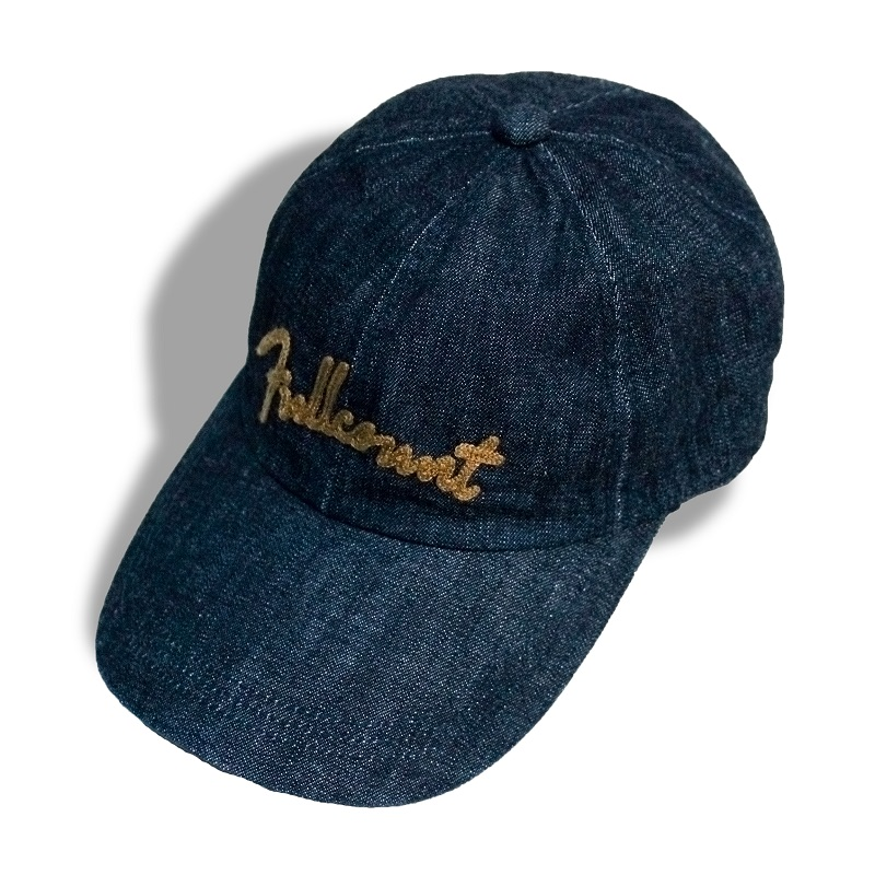 Chain Embroidery Denim Cap[新発売!]