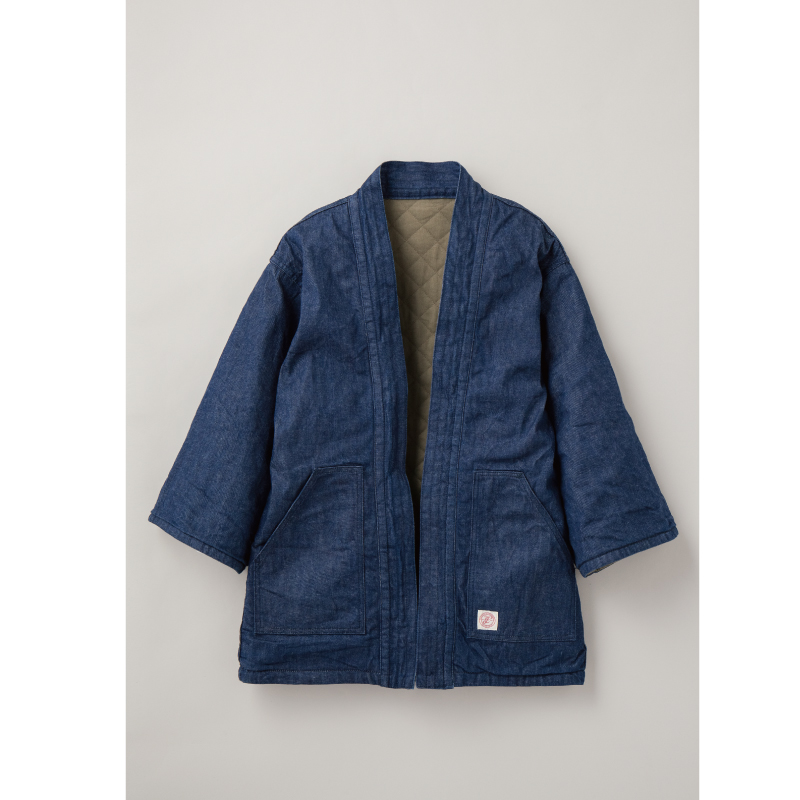 Reversible Denim Happi Coat【新発売!】