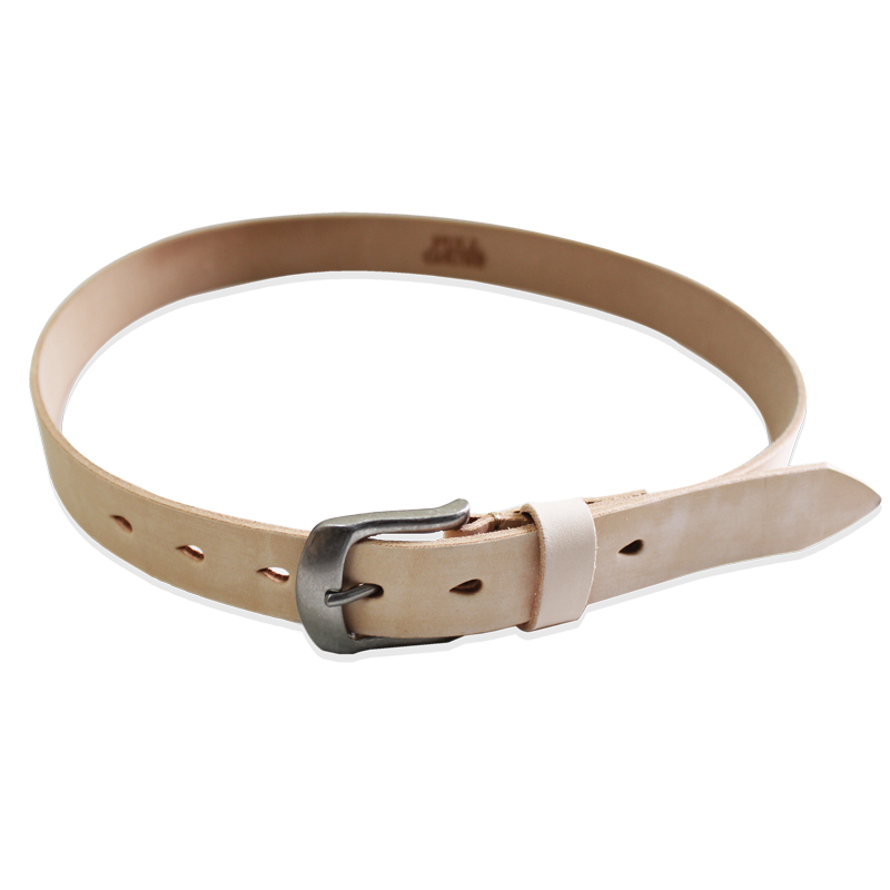 WILD LEATHER NARROW BELT
