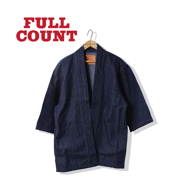 DENIM HAPPI COAT 無地ver.【再入荷!】