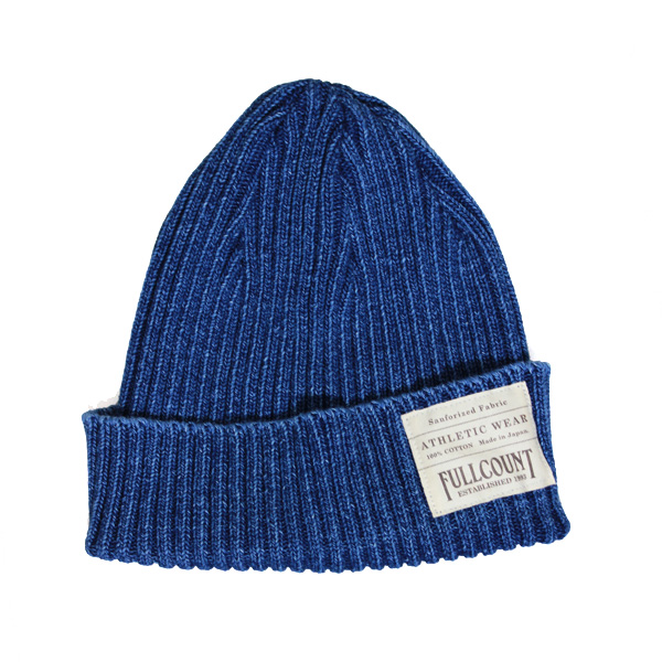 INDIGO RIB WATCH CAP【再入荷】