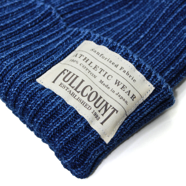 INDIGO RIB WATCH CAP