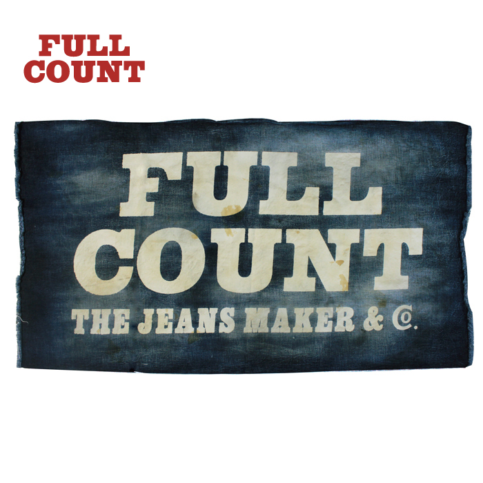 FULLCOUNT Selvedge Denim Banner -Vintage-