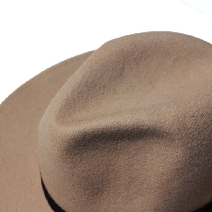 WOOL FELT HAT MADE BY THE H.W DOG&CO