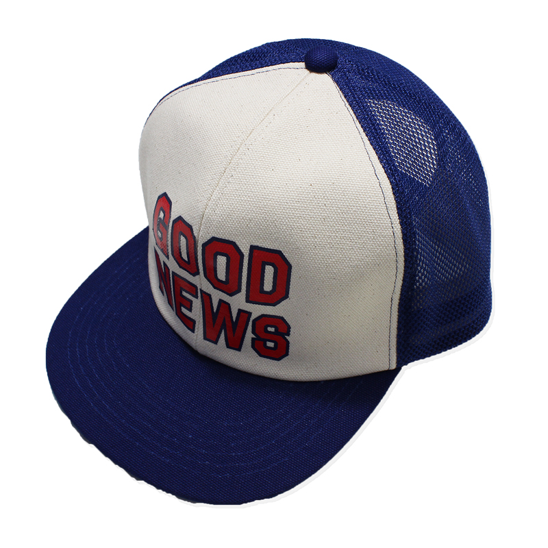 OLD TRUCKER CAP(GOOD NEWS)MADE BY THE H.W.DOG