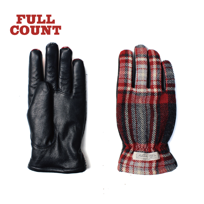 BRITISH WOOL CHECK GLOVES