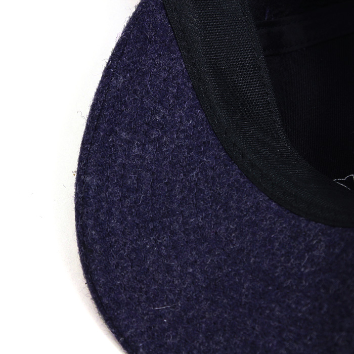 WOOL 6PANEL B.BCAP VINTAGE PURPLE