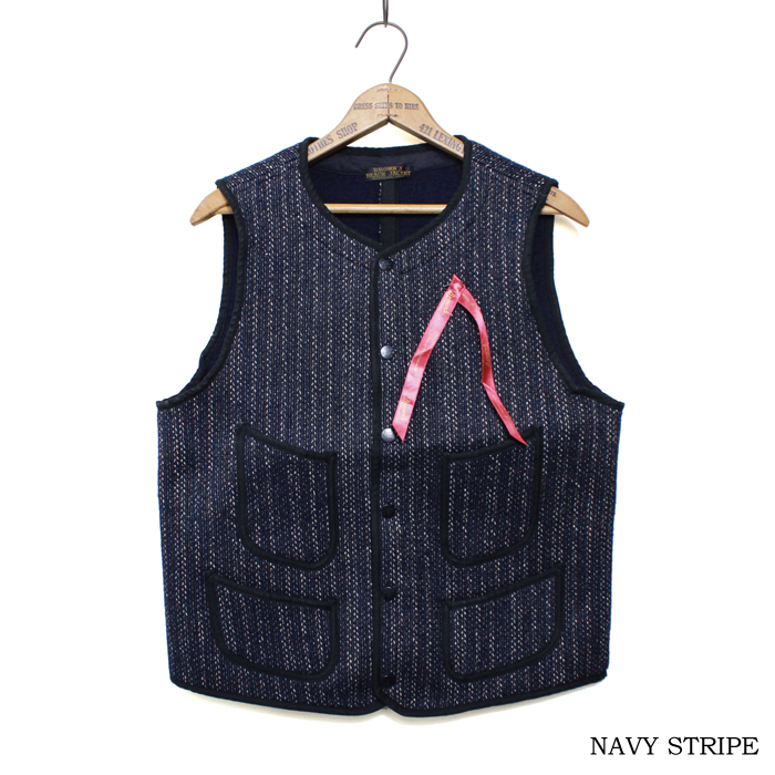 BROWN'S BEACH EARLY VEST【再入荷&新色登場】