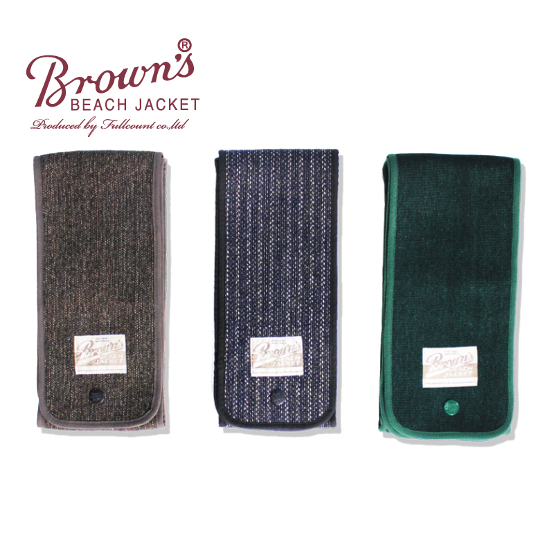 BROWN'S BEACH MUFFLER【再入荷】