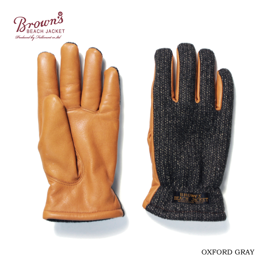 BROWN'S BEACH GLOVES【OXFORD GREY再入荷】