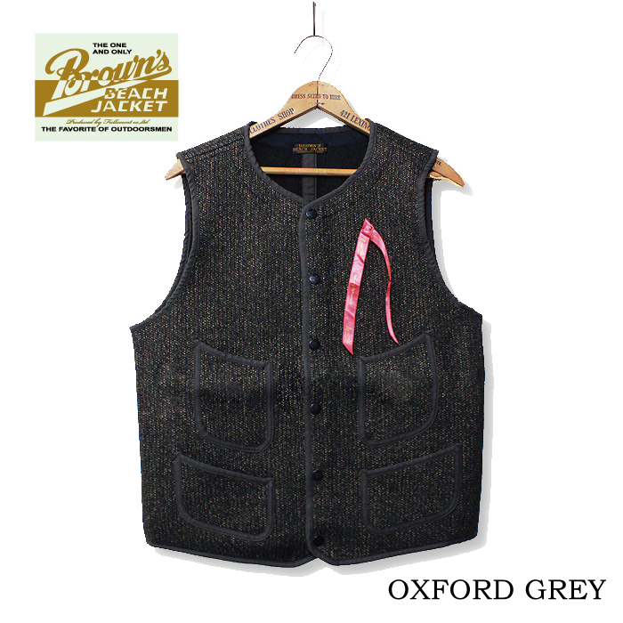 BROWN'S BEACH EARLY VEST【8/末発売先行予約】