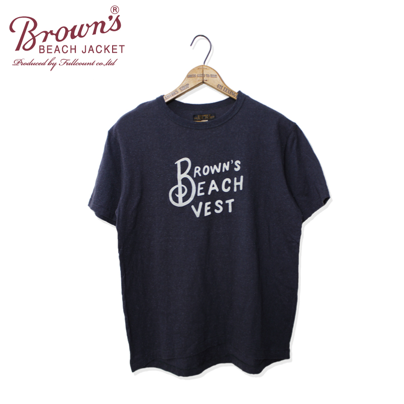 BROWN`S BEACH TEE 1【再入荷!】