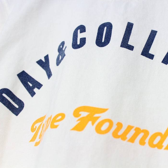 DAY&COLLINS TEE(BACK PRINT)
