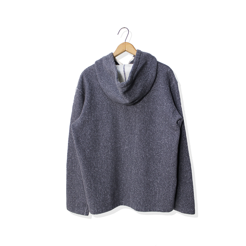 HOODED CARDIGAN SALT & PEPPER【新発売!】
