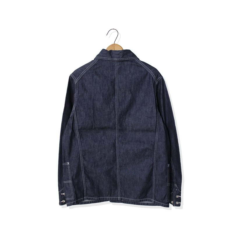 DENIM COVERALL JACKET【新発売!】
