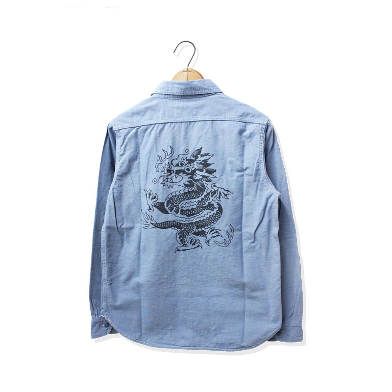 FULLCOUNT×LIAM ALVY CHAMBRAY SHIRT #1【新発売!】