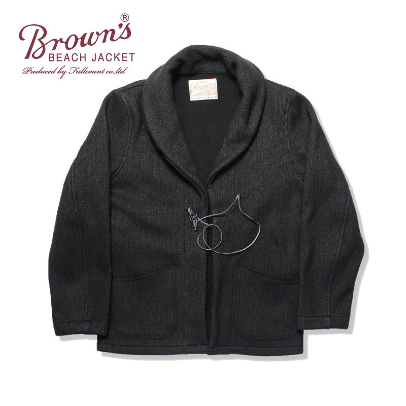 BROWN'S BEACH SHAWL COLLAR ROBE