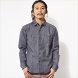 [ビッグマイク]HICKORY STRIPE SHIRTS