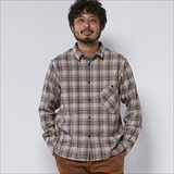 [ルールズピープス]COTTON CHECK GOODAY SHIRT