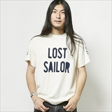 "[ダウンオンザコーナー]S/S TEE""LOST SAILOR""LIMITED"