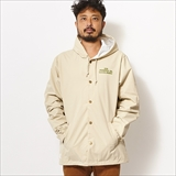 "[ダウンオンザコーナー]HOODED COACH JACKET""GOOD LIFE"""