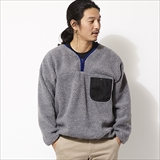 [バンブーシュート]FLEECE PULLOVER SHIRT