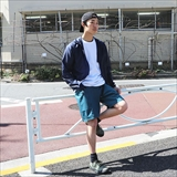 [バンブーシュート]ZIP POCKET CARGO SHORTS