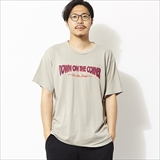 "[ダウンオンザコーナー]S/S HEMP COTTON TEE ""JCY ON THE ROAD"""