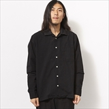 [スピナーベイト]FRIDGE別注 2nd OPEN COLLER LINEN COTTON SHIRTS (8304MD)