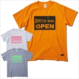 [アノーカ×フリッジ]Amazing WE'RE OPEN pocket tee GO OUT別注