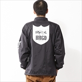 [バスブリゲード]SKELETON SHIELD LOGO COACH JACKET
