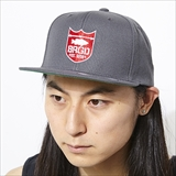 [バスブリゲード]SHIELD LOGO SNAPBACK