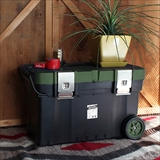 [ブリッド]TRUNK BOX CART 67L with Casters