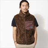 [チャムス]Bonding Fleece Vest