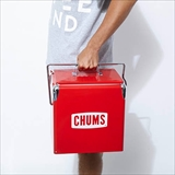 [チャムス]CHUMS Steel Cooler Box