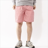 [クックマン]Chef short Pants Gingham Red