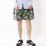 [クックマン]Chef short Pants Tropical