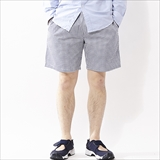 [クックマン]Chef Short Pants Gingham