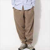 [クックマン]Chef Pants Wool mix Stripe