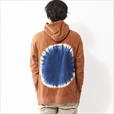 [デヴァドゥルガ]BACK ECLIPSE PULLOVER PARKER