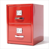 [ダルトン]METAL CARD CABINET RED