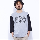 [エルネスト]THREE WISE L/S TEE