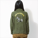 "[ゴーヘンプ]""KEEP ON""COACH JACKET"