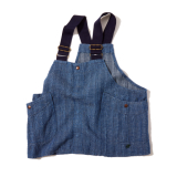 [ゴーヘンプ]VENDOR CRAFT VEST / H/C DOBBY DENIM