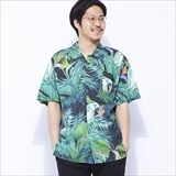 [グッドワース]TOUCAN GRAM BUTTON UP